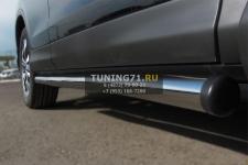 HONDA CR-V 2013 2,0 Пороги труба d63 (вариант 2) HVT-0013402